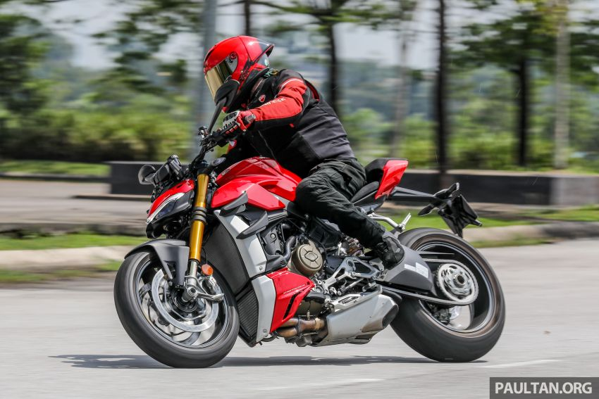 REVIEW: 2021 Ducati Streetfighter V4S, RM145,900 Image #1286961