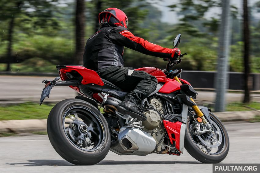 REVIEW: 2021 Ducati Streetfighter V4S, RM145,900 Image #1286962