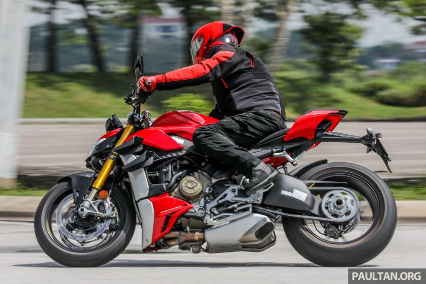 REVIEW: 2021 Ducati Streetfighter V4S, RM145,900 Image #1286965