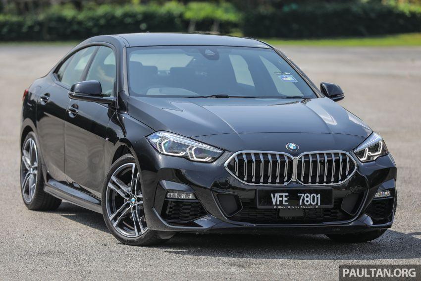 PANDU UJI: BMW 218i M Sport Gran Coupe memang menang gaya; prestasi pada skala sederhana Image #1274808