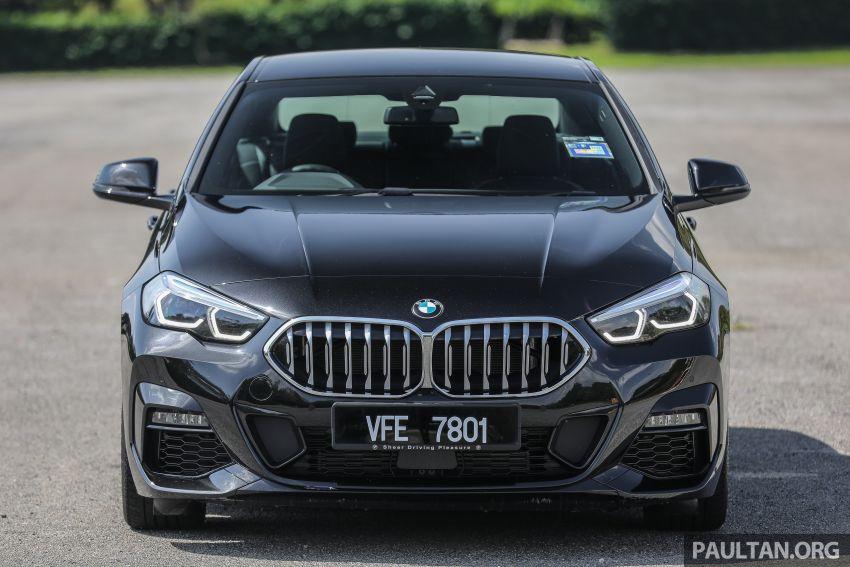 PANDU UJI: BMW 218i M Sport Gran Coupe memang menang gaya; prestasi pada skala sederhana Image #1274818