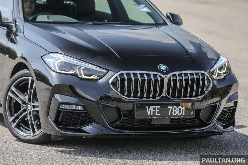 PANDU UJI: BMW 218i M Sport Gran Coupe memang menang gaya; prestasi pada skala sederhana Image #1274822
