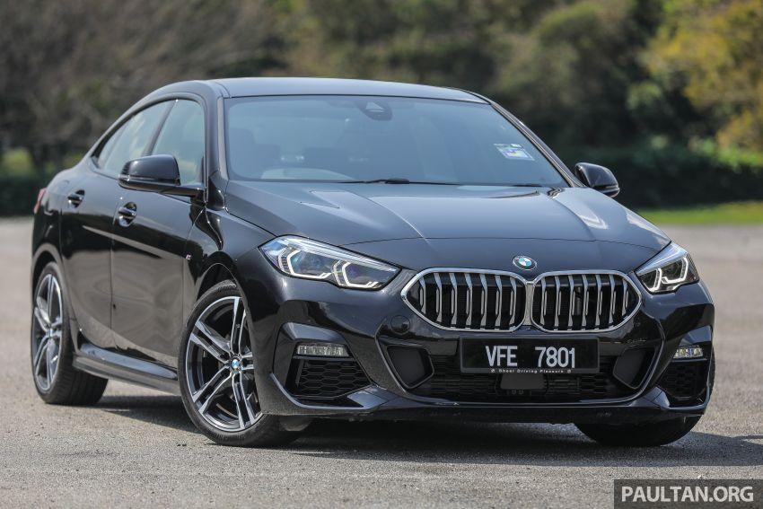 PANDU UJI: BMW 218i M Sport Gran Coupe memang menang gaya; prestasi pada skala sederhana Image #1274809