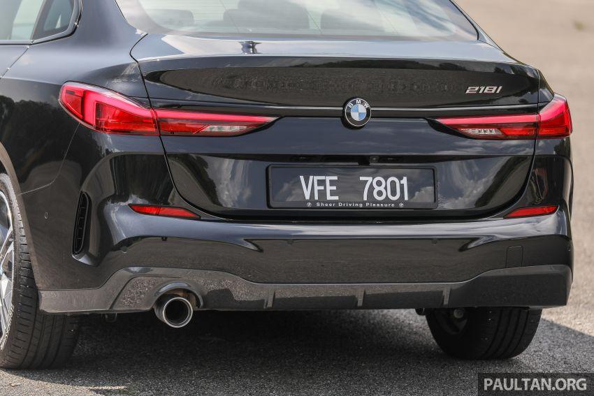PANDU UJI: BMW 218i M Sport Gran Coupe memang menang gaya; prestasi pada skala sederhana Image #1274834
