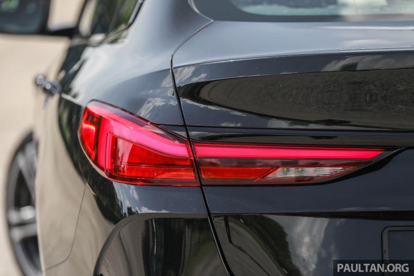 PANDU UJI: BMW 218i M Sport Gran Coupe memang menang gaya; prestasi pada skala sederhana Image #1274835