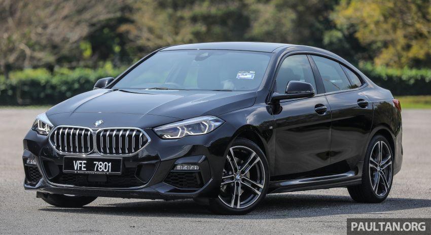 PANDU UJI: BMW 218i M Sport Gran Coupe memang menang gaya; prestasi pada skala sederhana Image #1274811