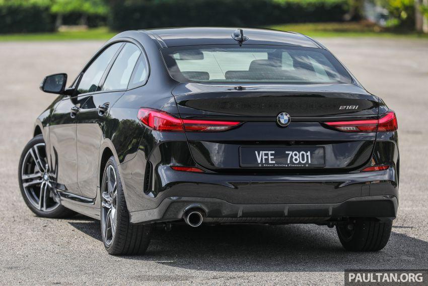 PANDU UJI: BMW 218i M Sport Gran Coupe memang menang gaya; prestasi pada skala sederhana Image #1274814