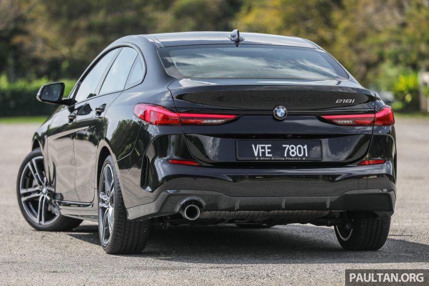 PANDU UJI: BMW 218i M Sport Gran Coupe memang menang gaya; prestasi pada skala sederhana Image #1274815