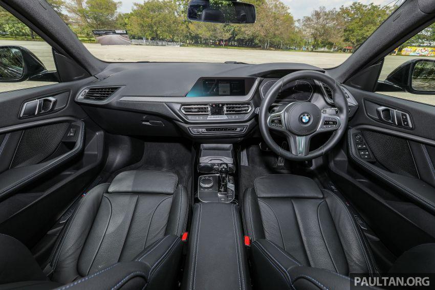 PANDU UJI: BMW 218i M Sport Gran Coupe memang menang gaya; prestasi pada skala sederhana Image #1274846