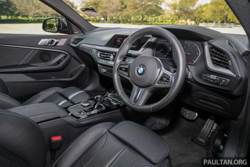 PANDU UJI: BMW 218i M Sport Gran Coupe memang menang gaya; prestasi pada skala sederhana Image #1274847