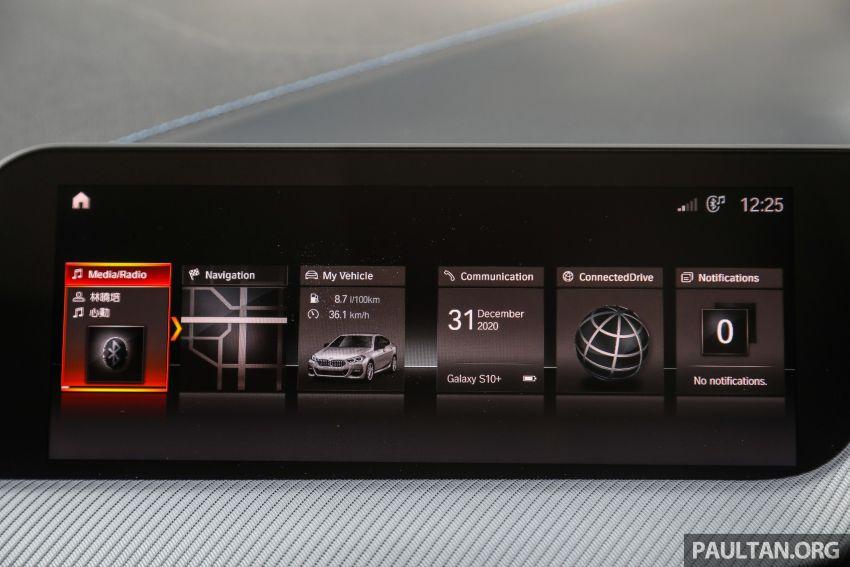 PANDU UJI: BMW 218i M Sport Gran Coupe memang menang gaya; prestasi pada skala sederhana Image #1274869
