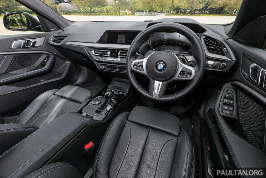 PANDU UJI: BMW 218i M Sport Gran Coupe memang menang gaya; prestasi pada skala sederhana Image #1274894