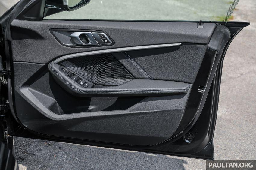 PANDU UJI: BMW 218i M Sport Gran Coupe memang menang gaya; prestasi pada skala sederhana Image #1274905