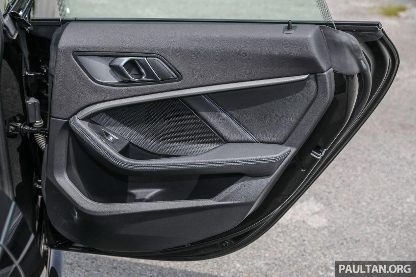 PANDU UJI: BMW 218i M Sport Gran Coupe memang menang gaya; prestasi pada skala sederhana Image #1274916