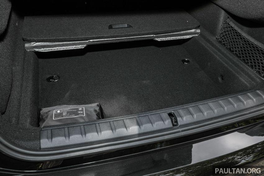 PANDU UJI: BMW 218i M Sport Gran Coupe memang menang gaya; prestasi pada skala sederhana Image #1274920