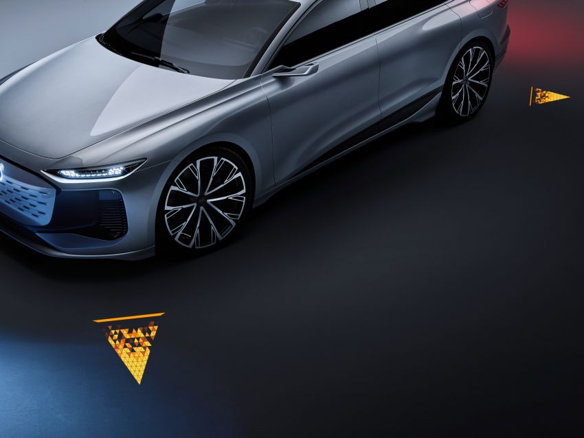 2021 Audi A6 e-tron concept debuts at Shanghai show – PPE-based EV, 100 kWh battery, up to 700 km range! Image #1283632
