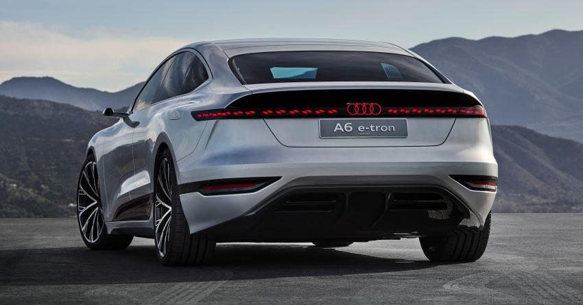 2021 Audi A6 e-tron concept debuts at Shanghai show – PPE-based EV, 100 kWh battery, up to 700 km range! Image #1283634