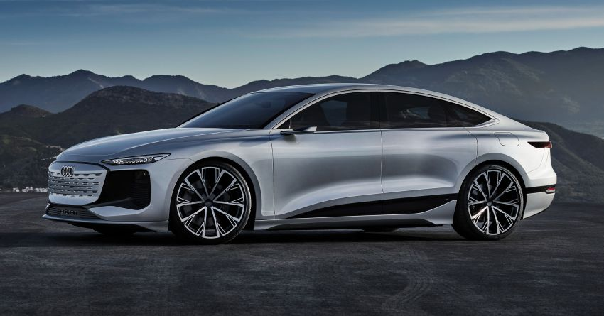 2021 Audi A6 e-tron concept debuts at Shanghai show – PPE-based EV, 100 kWh battery, up to 700 km range! Image #1283635