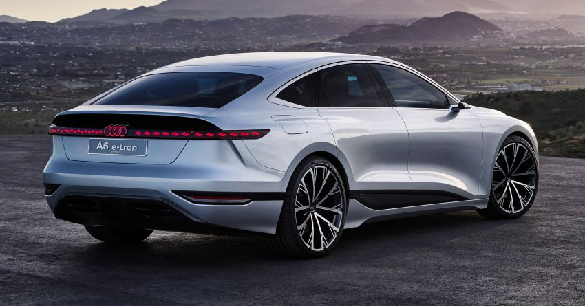 2021 Audi A6 e-tron concept debuts at Shanghai show – PPE-based EV, 100 kWh battery, up to 700 km range! Image #1283638