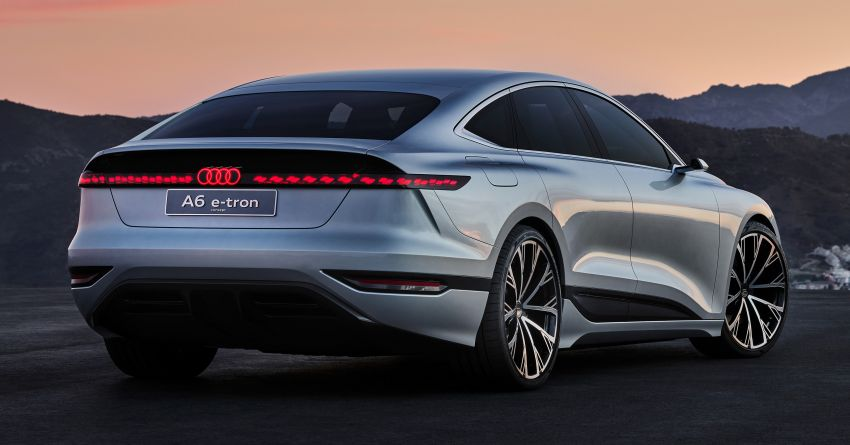 2021 Audi A6 e-tron concept debuts at Shanghai show – PPE-based EV, 100 kWh battery, up to 700 km range! Image #1283639