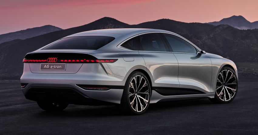 2021 Audi A6 e-tron concept debuts at Shanghai show – PPE-based EV, 100 kWh battery, up to 700 km range! Image #1283641