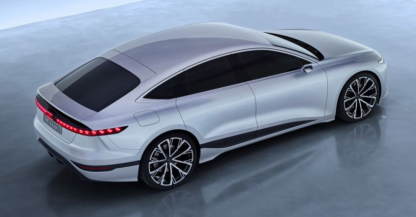 2021 Audi A6 e-tron concept debuts at Shanghai show – PPE-based EV, 100 kWh battery, up to 700 km range! Image #1283642