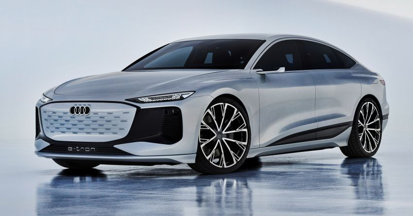 2021 Audi A6 e-tron concept debuts at Shanghai show – PPE-based EV, 100 kWh battery, up to 700 km range! Image #1283643