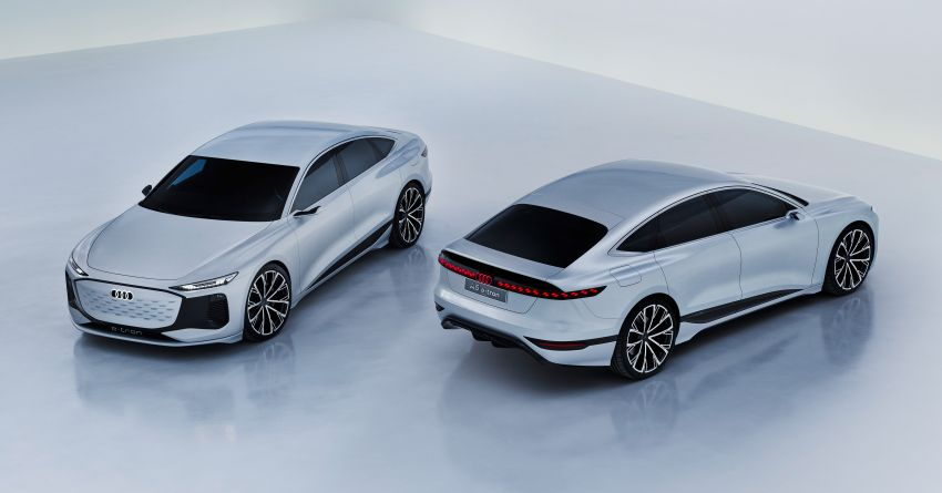 2021 Audi A6 e-tron concept debuts at Shanghai show – PPE-based EV, 100 kWh battery, up to 700 km range! Image #1283646