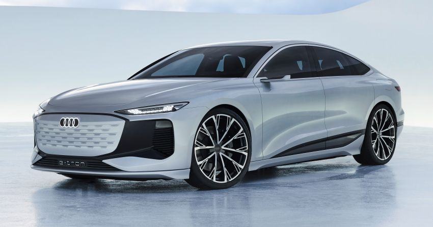 2021 Audi A6 e-tron concept debuts at Shanghai show – PPE-based EV, 100 kWh battery, up to 700 km range! Image #1283648