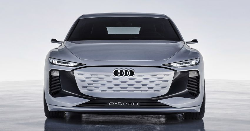 2021 Audi A6 e-tron concept debuts at Shanghai show – PPE-based EV, 100 kWh battery, up to 700 km range! Image #1283649