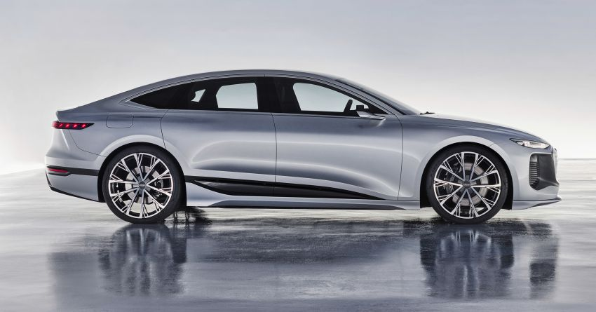 2021 Audi A6 e-tron concept debuts at Shanghai show – PPE-based EV, 100 kWh battery, up to 700 km range! Image #1283651