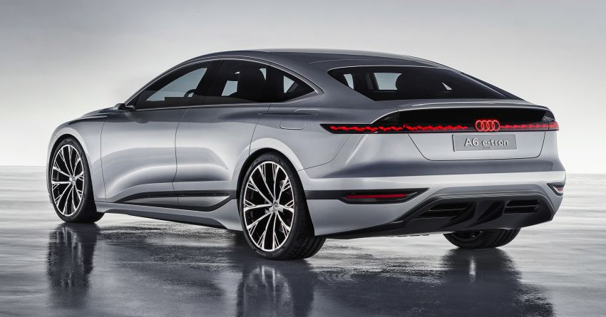 2021 Audi A6 e-tron concept debuts at Shanghai show – PPE-based EV, 100 kWh battery, up to 700 km range! Image #1283652
