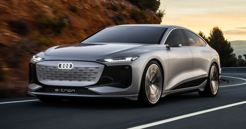2021 Audi A6 e-tron concept debuts at Shanghai show – PPE-based EV, 100 kWh battery, up to 700 km range! Image #1283653