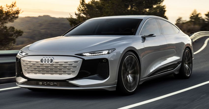2021 Audi A6 e-tron concept debuts at Shanghai show – PPE-based EV, 100 kWh battery, up to 700 km range! Image #1283655