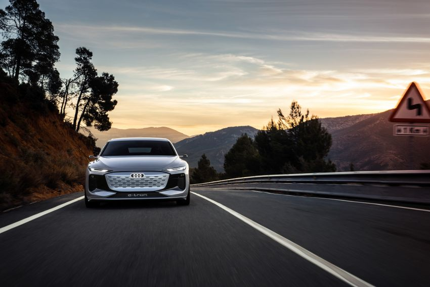 2021 Audi A6 e-tron concept debuts at Shanghai show – PPE-based EV, 100 kWh battery, up to 700 km range! Image #1283656