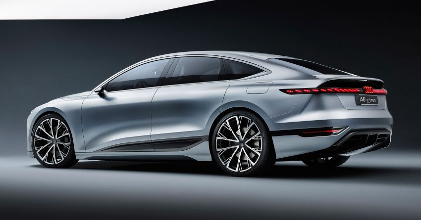 2021 Audi A6 e-tron concept debuts at Shanghai show – PPE-based EV, 100 kWh battery, up to 700 km range! Image #1283618