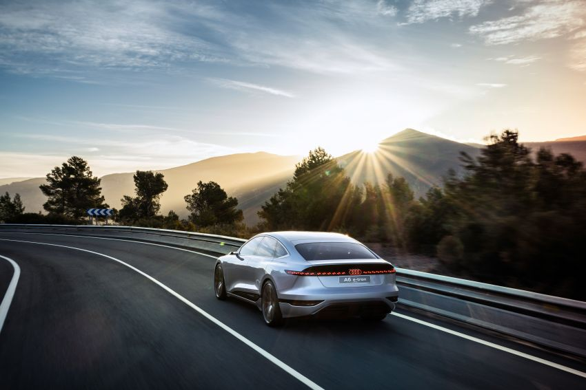 2021 Audi A6 e-tron concept debuts at Shanghai show – PPE-based EV, 100 kWh battery, up to 700 km range! Image #1283658