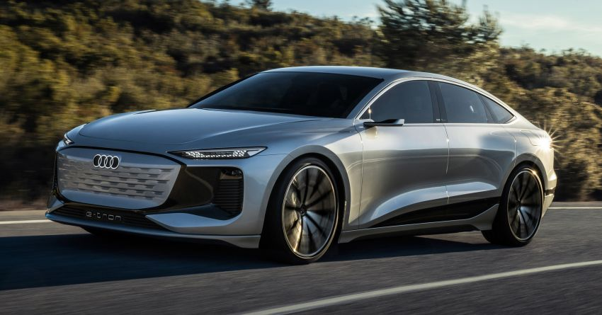 2021 Audi A6 e-tron concept debuts at Shanghai show – PPE-based EV, 100 kWh battery, up to 700 km range! Image #1283663
