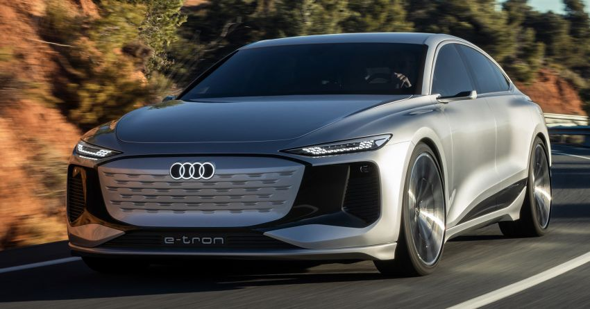 2021 Audi A6 e-tron concept debuts at Shanghai show – PPE-based EV, 100 kWh battery, up to 700 km range! Image #1283664