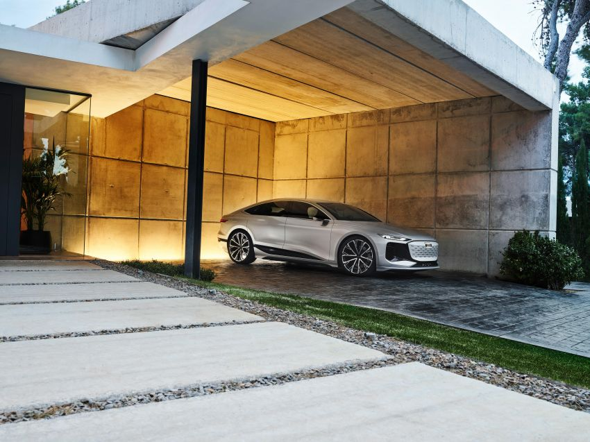 2021 Audi A6 e-tron concept debuts at Shanghai show – PPE-based EV, 100 kWh battery, up to 700 km range! Image #1283665