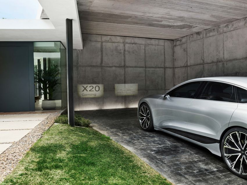 2021 Audi A6 e-tron concept debuts at Shanghai show – PPE-based EV, 100 kWh battery, up to 700 km range! Image #1283667