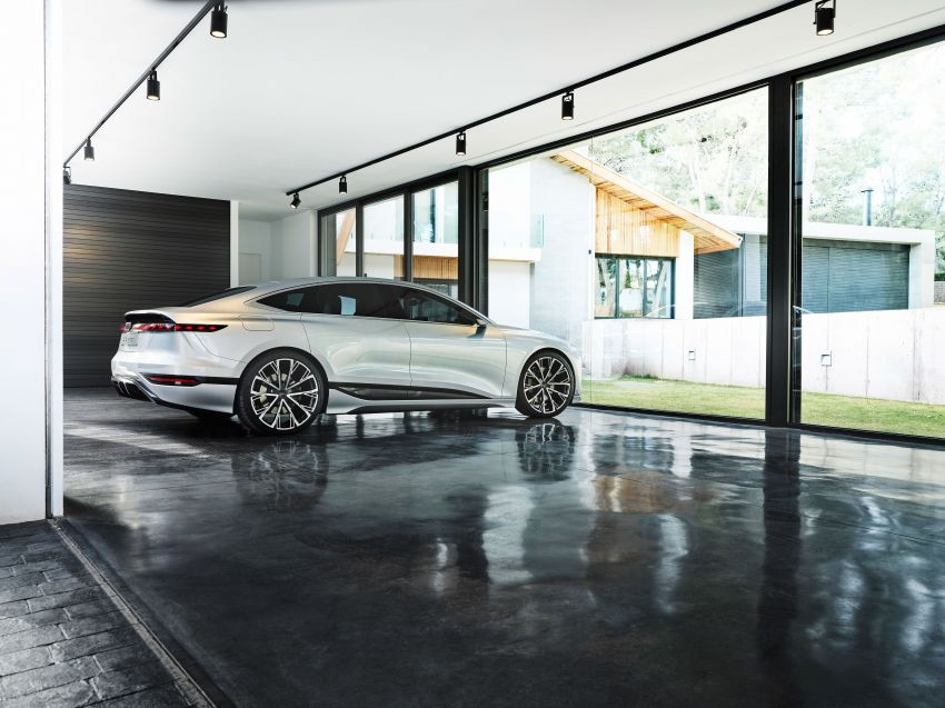 2021 Audi A6 e-tron concept debuts at Shanghai show – PPE-based EV, 100 kWh battery, up to 700 km range! Image #1283669