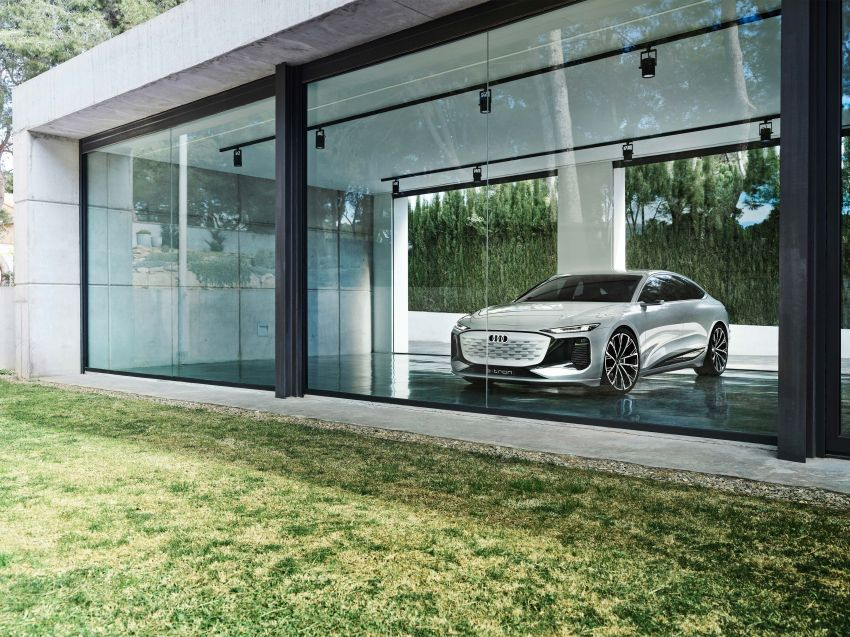2021 Audi A6 e-tron concept debuts at Shanghai show – PPE-based EV, 100 kWh battery, up to 700 km range! Image #1283670