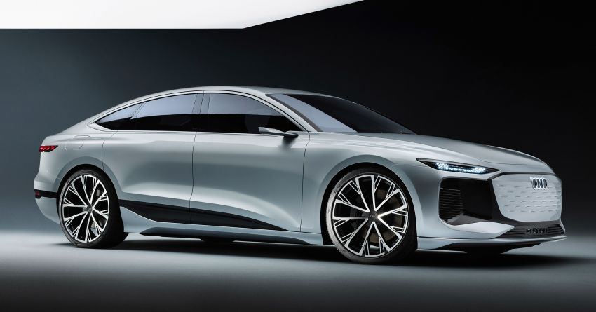 2021 Audi A6 e-tron concept debuts at Shanghai show – PPE-based EV, 100 kWh battery, up to 700 km range! Image #1283619