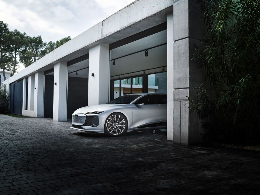 2021 Audi A6 e-tron concept debuts at Shanghai show – PPE-based EV, 100 kWh battery, up to 700 km range! Image #1283671