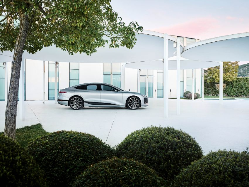2021 Audi A6 e-tron concept debuts at Shanghai show – PPE-based EV, 100 kWh battery, up to 700 km range! Image #1283672