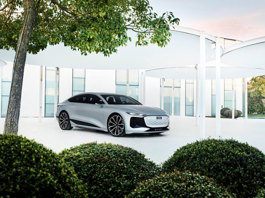 2021 Audi A6 e-tron concept debuts at Shanghai show – PPE-based EV, 100 kWh battery, up to 700 km range! Image #1283673