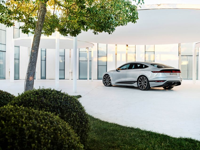 2021 Audi A6 e-tron concept debuts at Shanghai show – PPE-based EV, 100 kWh battery, up to 700 km range! Image #1283674