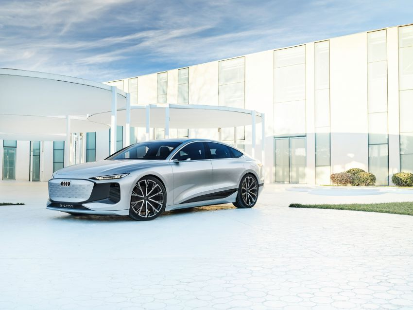 2021 Audi A6 e-tron concept debuts at Shanghai show – PPE-based EV, 100 kWh battery, up to 700 km range! Image #1283675
