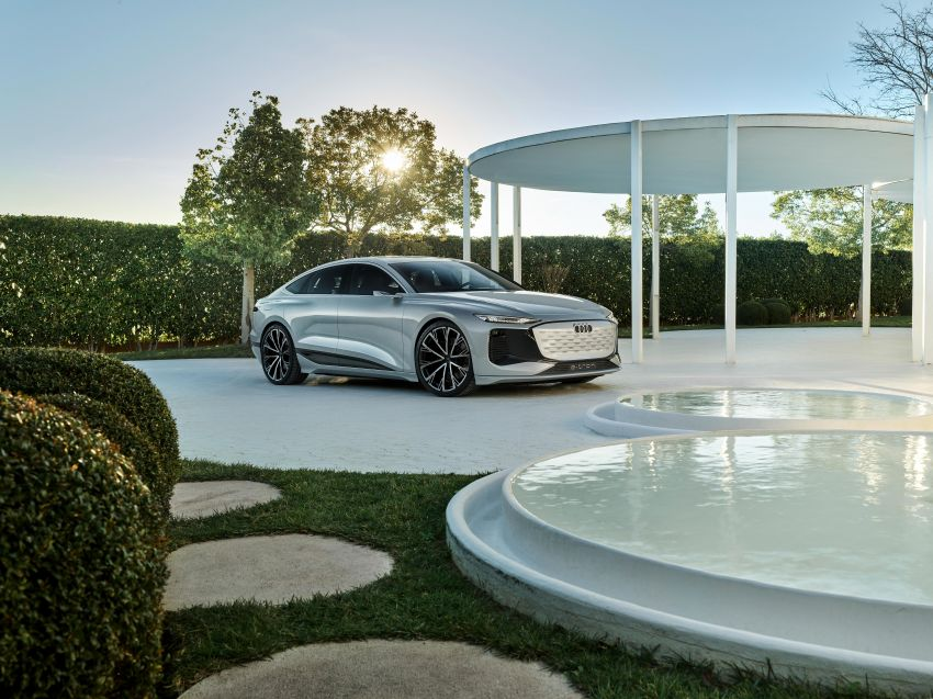2021 Audi A6 e-tron concept debuts at Shanghai show – PPE-based EV, 100 kWh battery, up to 700 km range! Image #1283676